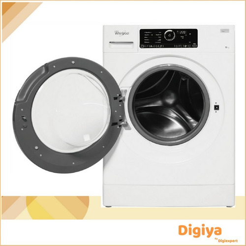 secarropas whirlpool wsf10ab por calor 10kg blanco frontal