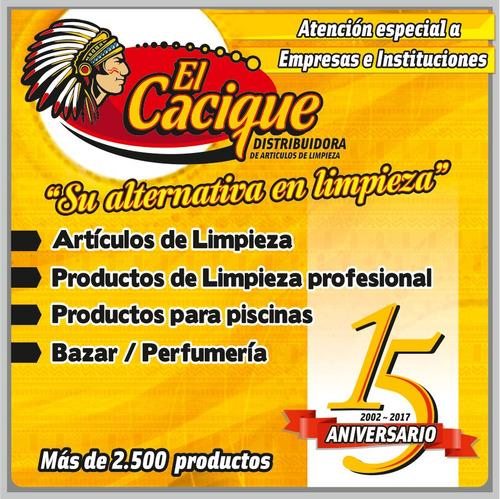 secavidrio 2 en 1 con cabo extensible novica (cod. 5991)
