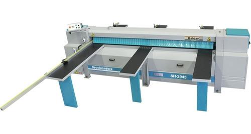 seccionadora horizontal 2900mm c/ riscador sh-2945 baldan