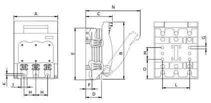 seccionadora jng hr17-400