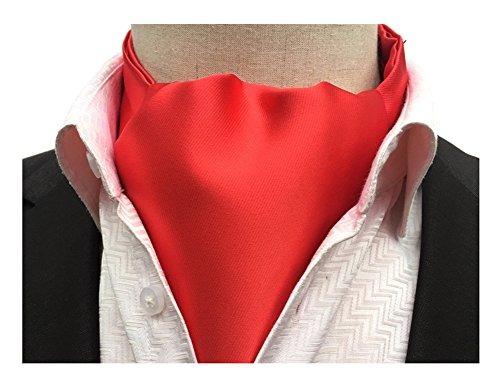 secdie brillante de color rojo satinado de seda de época cor