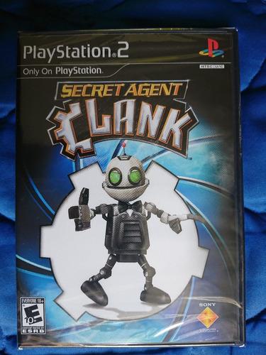 secret agent clank playstation 2 ps2 nuevo y sellado