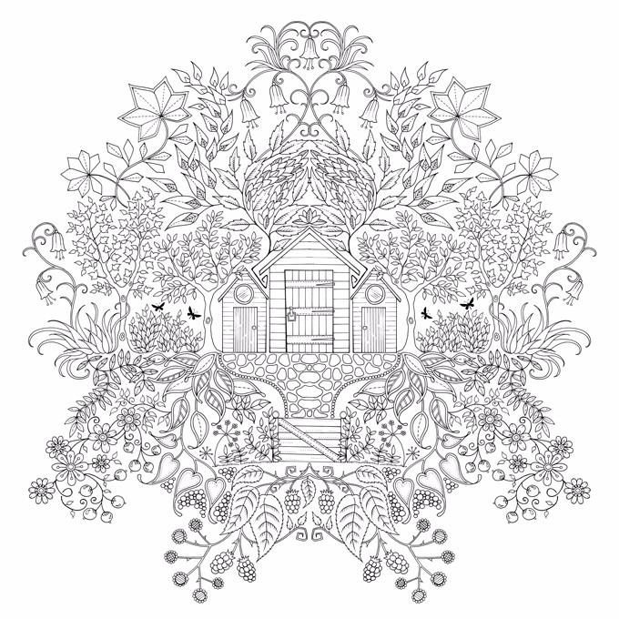 Secret Garden - Libro Para Colorear - Mandalas - $ 7.000 en Mercado ...