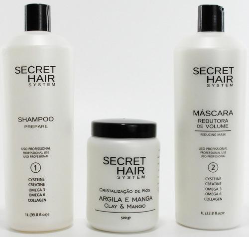 secret hair system escova progressiva original
