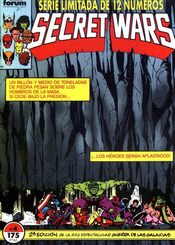 secret war - comics digitales - español