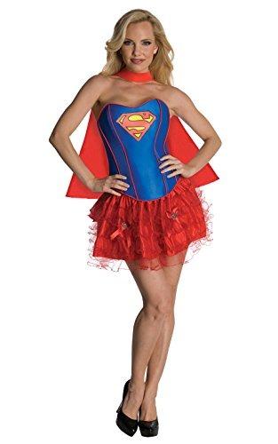 Secret Wishes Dc Comics Supergirl Corset Y Traje De Tutú ... d0a664c528b2