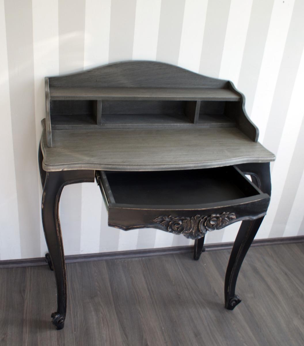 Secreter Escritorio Mueble Vintage Madera Cedro Fotos Reales  # Muebles Secreter