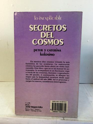 secreto del cosmos de peter y caterina kolosimo