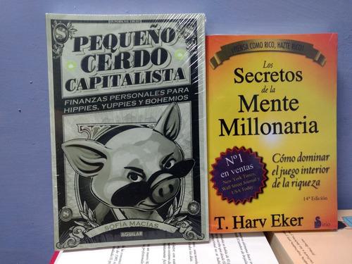 secretos de la mente millonaria + vendele a la gente no a la