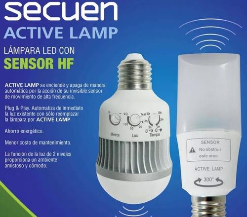 secuen active lamp 11 sensor movimiento hdp08