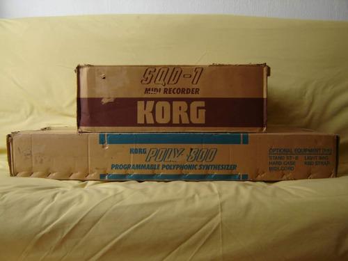 secuenciador korg sqd-1 ( roland moog yamaha sintetizador )