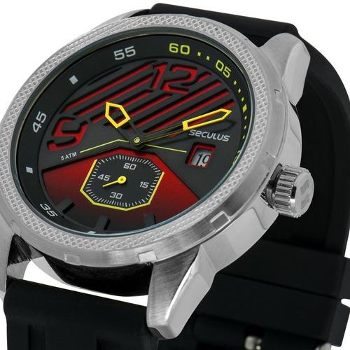 seculus masculino relógio