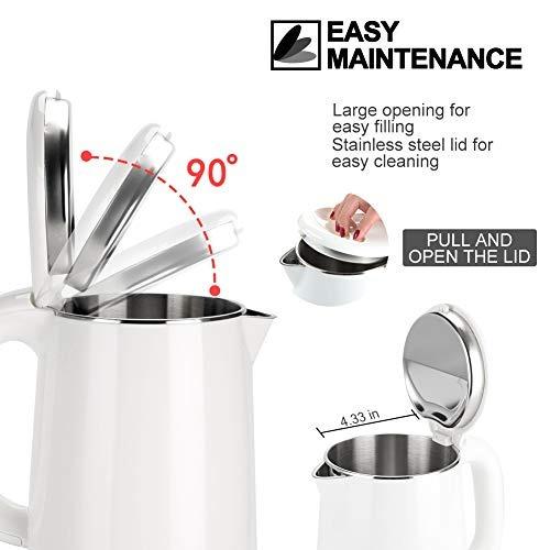 secura cafetera hervidor tetera electrica 1 litro