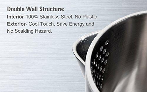 secura swk1701db la hervidor de agua eléctrico de pared dob