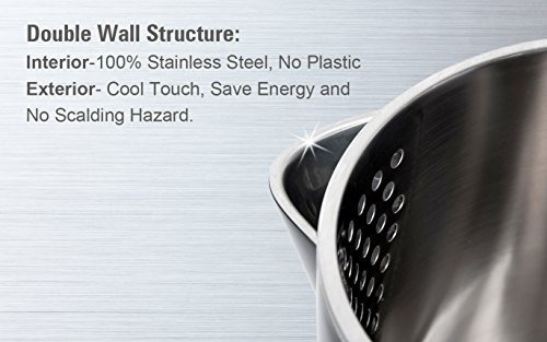 secura swk1701db la hervidor de agua eléctrico de pared dobl