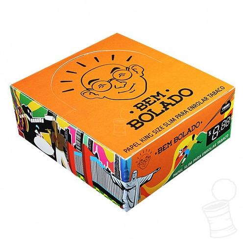 seda bem bolado king size caixa lacrada original