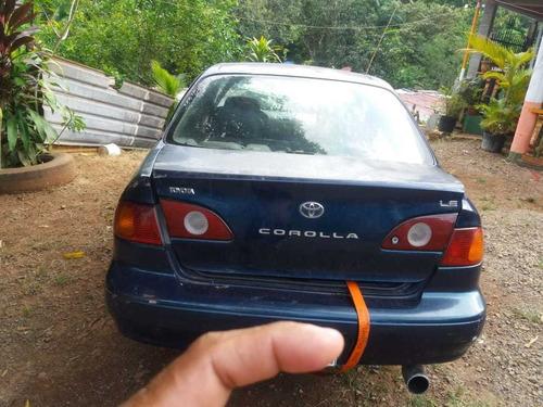 sedan toyota corolla  toyota corolla toyota corolla 2001