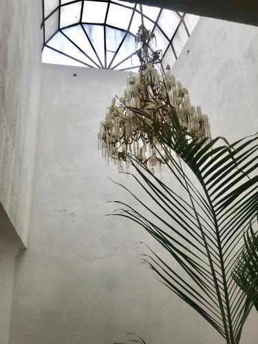 seductora casa estilo mexicano en bosque de jazmines, bosques de las lomas