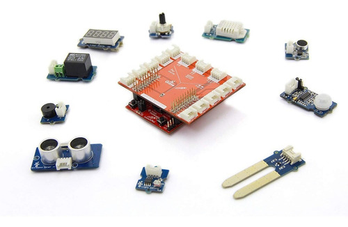 seeedstudio grove starter kit para launchpad