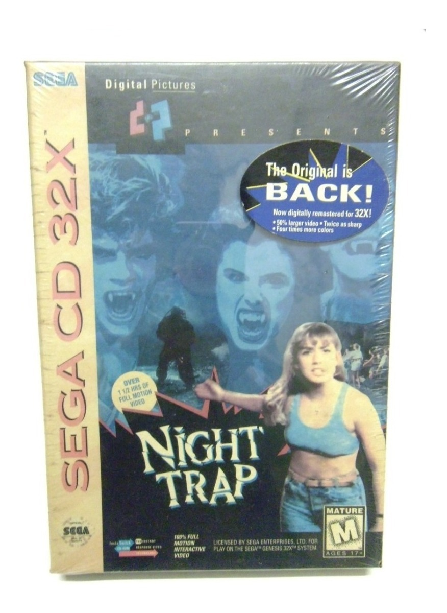 Sega Cd - 32 X, Night Trap (nuevo)