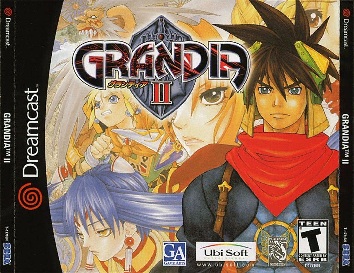 Sega Dreamcast Grandia 2 (2 Disco)