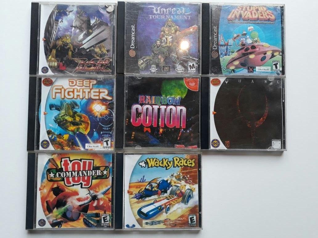 Lote Juegos Sega Dreamcast 1 600 00 En Mercado Libre