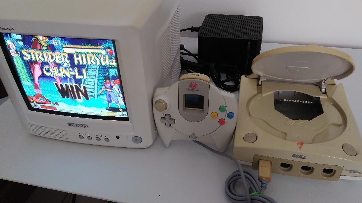 Sega Dreamcast Modificado Com Bioshack E Modide Frete Grátis