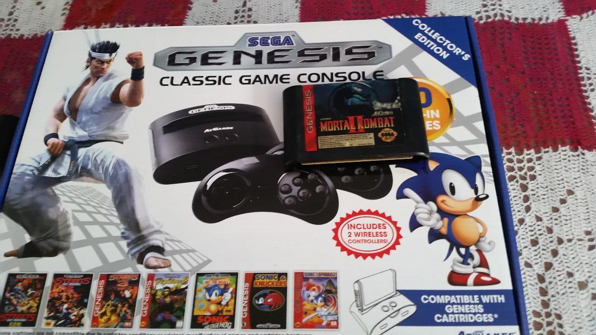 Sega Genesis Clasic Game Console 80 Juegos Mortal 2 1 600 00