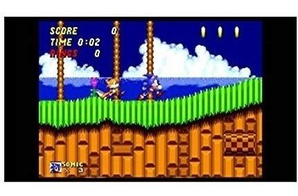 sega genesis classic game console