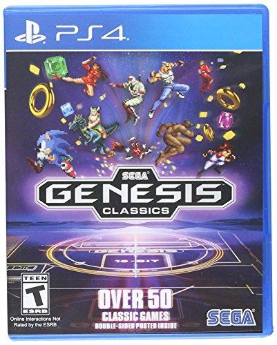 sega genesis classics playstation 4