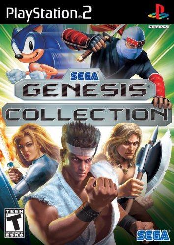 sega genesis collection playstation 2