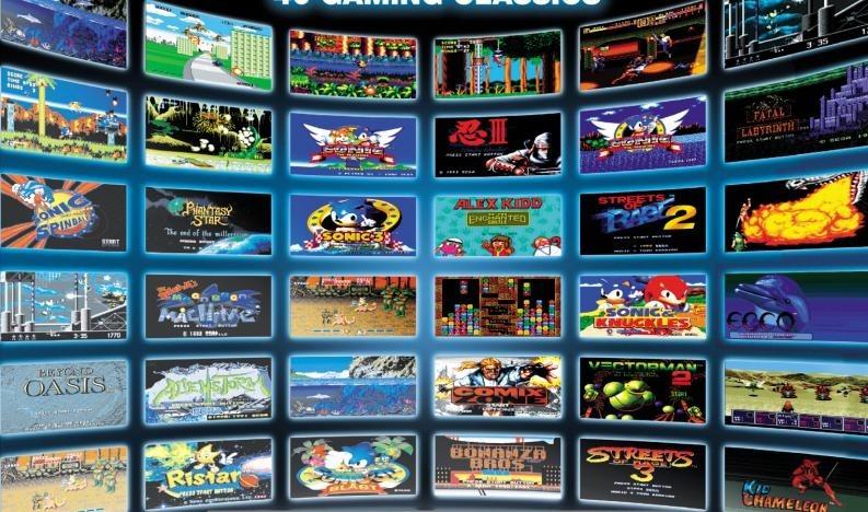 Sega Genesis Pack Completo Para Pc Y Android 3000 Juegos