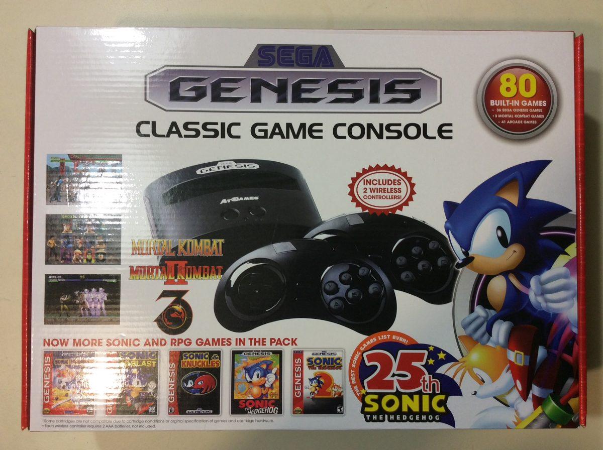 Sega Genesis Mini 80 Juegos Pre Cargados 1 600 00 En Mercado Libre