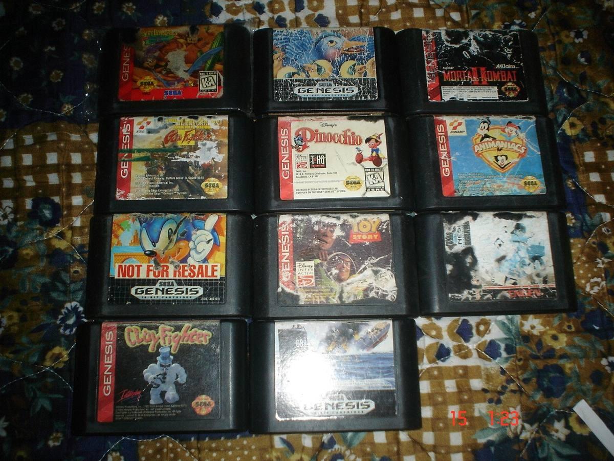 Sega Genesis Varios Titulos Parte 5 C U 200 00 En Mercado Libre