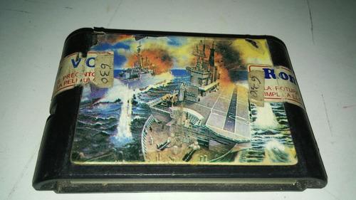 sega juego cartucho guerra naval