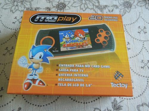 sega mega drive genesis portatil 20 jogos na memoria