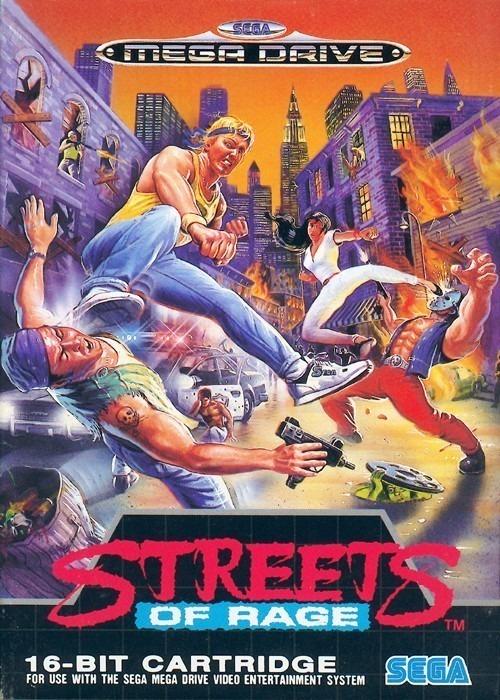 Resultado de imagem para Streets of Rage mega drive
