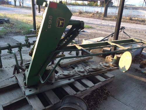 segadora agricola; cortadora de alfalfa