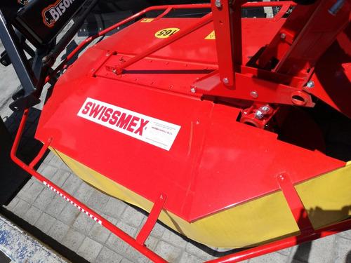 segadora de tambores marca swissmex nueva de 1.65 m