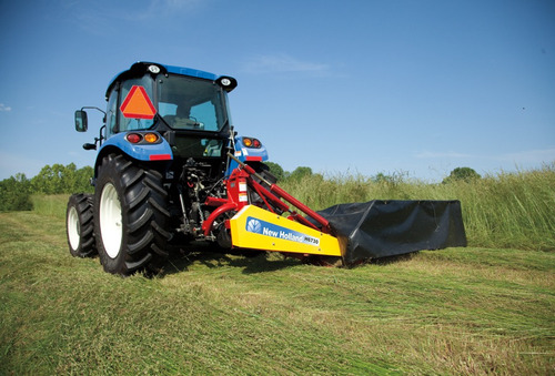 segadora lateral de 5 discos marca new holland nueva