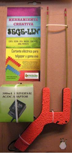 segelin o cortador de espuma plast, telgopor eléctrico