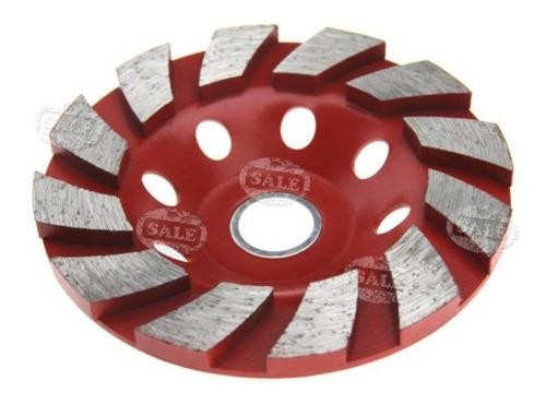 segmento del diamante 8 agujero pulido rueda 100mm copa disc