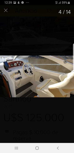 segue 32 con volvo turbo diesel 300 hp impecable