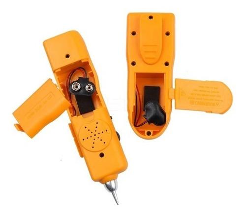 seguidor de tonos y probador redes lan tester cableado rj45