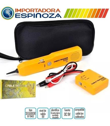 seguidor y generador de tonos cable tracker para cables red