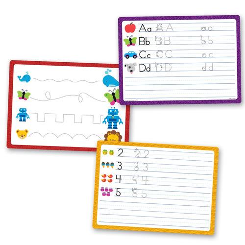 seguimiento y aprender la escritura de la actividad