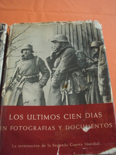 segunda guerra mundial, tres tomos,antiguos