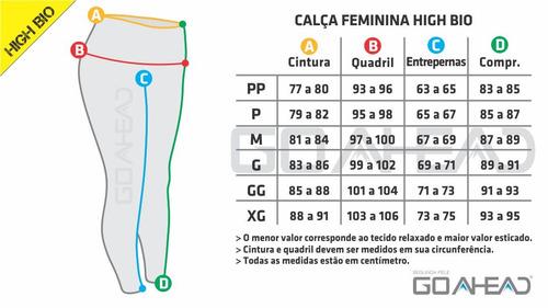 segunda pele feminina calça high bio go ahead altas temp.