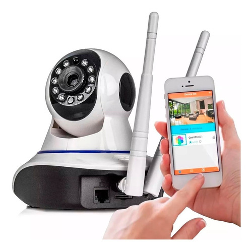 segurança áudio câmera
