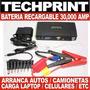 Bateria Externa 30000 Amp Auto Camioneta Off Road 4x4 Campin